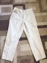 Bill Blass NWT Casuals Khaki Beige Pleated Pants Men's 32/30 AA162 - $14.50