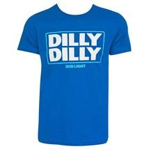 Bud Light Dilly Dilly Logo Tshirt Blue - $29.98+