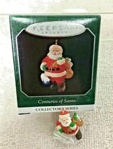 1998 Centuries of Santa #5 Miniature Hallmark Christmas Tree Ornament MI... - $9.41
