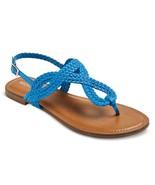 Merona Women's Jana Thong Sandals - Cobalt - Si... - $12.95