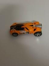 Hot Wheels Limited Edition  Rocket Fire Made In 2007 Mattel Orange Toy Car L9937 - $33.74