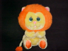 "9"" Angel Lion Snuggle Lion Plush Stuffed Toy My Mattel 1985 - $140.24"