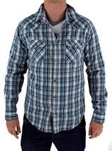 NEW LEVI'S MEN'S COTTON BUTTON UP CASUAL DRESS SHIRT BLUE 3LYLW211 size 2XL