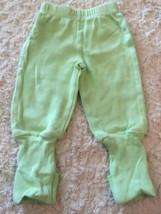 Snugabye Boys Light Green Convert-A-Foot Pants 3 Months  - $5.48