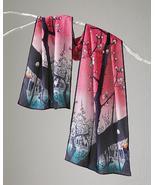Cocoon House 100 Views of Edo Silk Crepe Scarf - $39.99