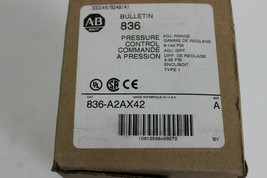 Allen-Bradley 836-A2AX42 Bulletin 836 Pressure Control New image 2