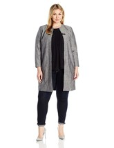 Calvin Klein Women's Plus Size Long Jacket with Buckle - $139.30+
