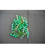 75 pcs- Mix Yellow/Green Plastic bead charms - $14.00
