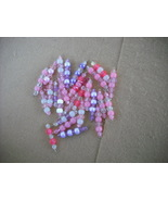 75 pcs- Mix Purple/Pink Plastic bead charms - $14.00