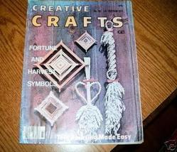 Creative Crafts Magazines 2 Back Issues 1975 1976 - $4.00