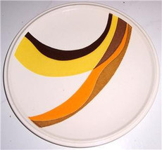 Mikasa Forecast Twin Rivers Salad Plate D6305 by Joan Luntz, Made In Japan - $13.99