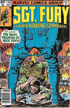 Sgt. Fury and His Howling Commandos Comic Book #158 Marvel 1980 VERY GOOD - $4.50