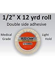"Primary image for 3m Clear 1522 Tape 1/2"" X 12 yard = Double side adhesive"