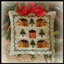 Saltbox Village 2012 Series #12 chart Little House Needleworks - $5.40