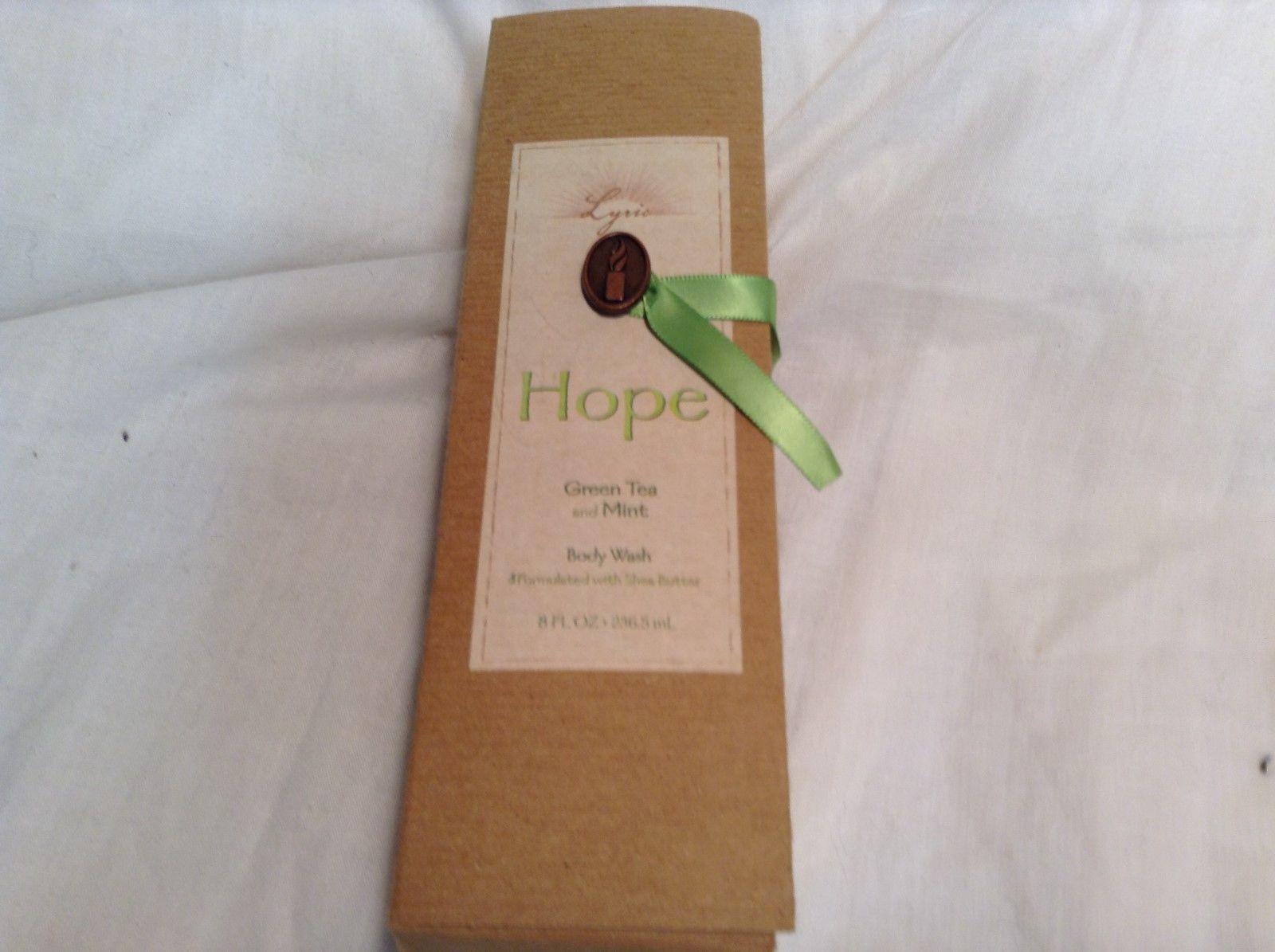 NEW Lyric 8floz Body Wash w Shea Butter Green Tea Mint Scent