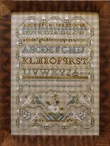 Mary Ann Myers - 1827 sampler cross stitch chart Little House Needleworks - $16.20