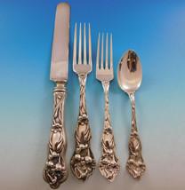Lily by Watson Sterling Silver Flatware Set Service 24 pieces No mono Di... - $1,935.00