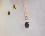 Sapphire set oval cut with o design thumb155 crop