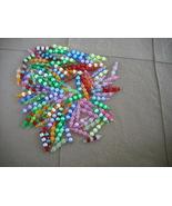 75 pcs- Mix Plastic bead charms - $14.00