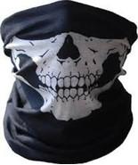 New Skeleton Ghost Skull Face Mask Cosplay Biker Balaclava Costume Hallo... - $8.90