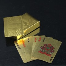 Play Poker Like a King With Gold Stylish Cards - $12.19