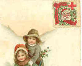 Cs8 Christmas Seal Vintage 1915 - $5.00