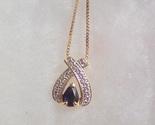 Sapphire wishbone pendant thumb155 crop