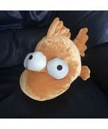 The Simpsons Blinky Orange 3 Eyed Mutant Fish Plush Stuffed Animal Soft Toy - $59.99