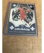 2019-20 Chronicles Crusade Zion Williamson Rookie Card RC Pelicans - $24.74