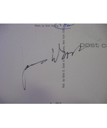 "James Woods Autograph On A 5 1/2"" X 3 1/2"" Postcard Initaled By Photogra... - $40.00"