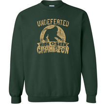 487 Undefeated Hide and Seek Champion Crew Sweatshirt sasquatch big foot new image 3