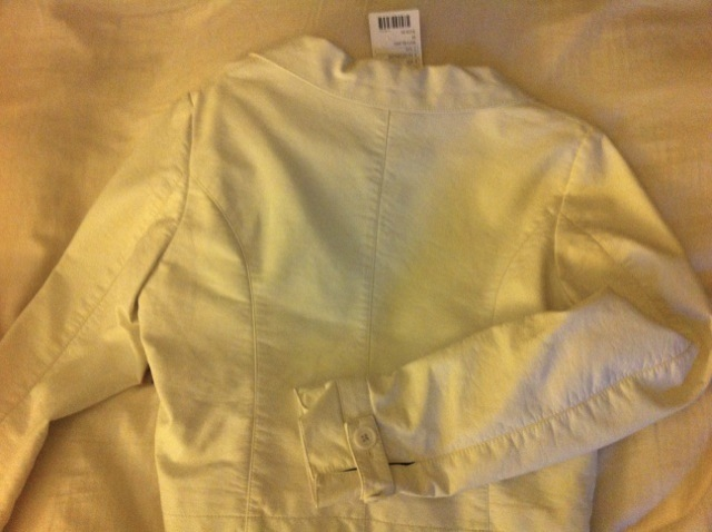 URBAN OUTFITTERS MarCo Operative Venice WHITE faux LEATHER JACKET NWT NEW medium
