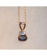 Mystic Topaz Necklace - $35.00