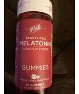 Pink Beauty Rest Melatonin Gummies-70ct.-Mixed Berry Flavor - $13.76