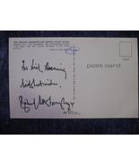 "Richard Attenborough Autographed 3 1/2""X5 1/2"" Postcard Initaled By Phot... - $45.00"