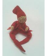 BAPS Dolls Red Orange Elf 1 Plant Climber Bottle Vintage Germany Bertel ... - $39.99