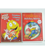 3 DVD LOT Caillou Maggie and the Ferocious Beast Children Kids - $14.85
