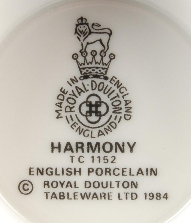 Royal Doulton Harmony Dinner Plate Pattern TC1152 New Stock