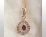 Sapphire dangle pendant thumb155 crop