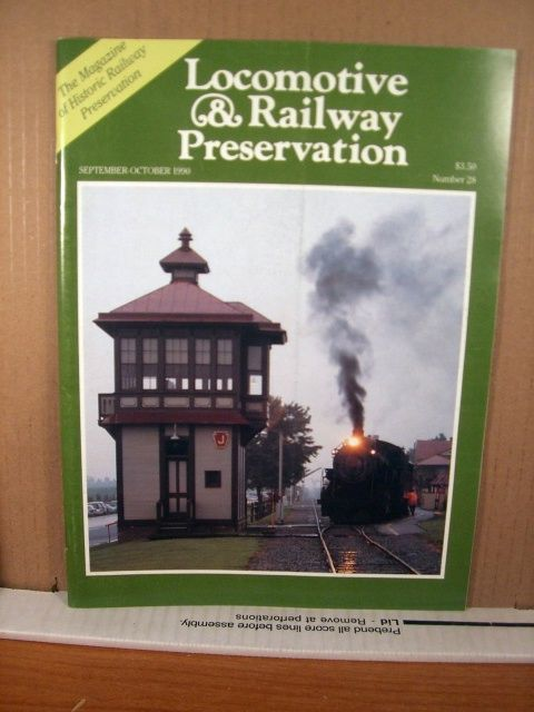 Locomotive & Railway Preservation Magazine No 28 September-October 1990