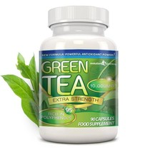Green Tea Extra Strength 10,000mg with 95% Polyphenols 90 Capsules (1 Mo... - $9.09