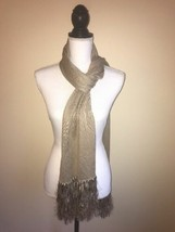 Lauren Ralph Lauren Women's Fringe Scarf (Brown) - $43.93