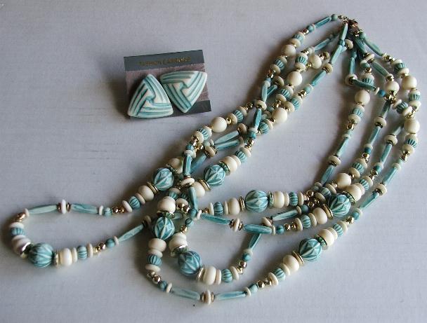 Turquoise wht neck