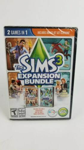 The Sims 3 Expansion Bundle (PC / MAC, 2013) EA Maxis Video Game Sealed New