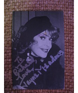 """Jayne Meadows Autographed 3 1/2"""" X 5 1/2"""" Picture Postcard Postmarked 1993 - $45.00"""