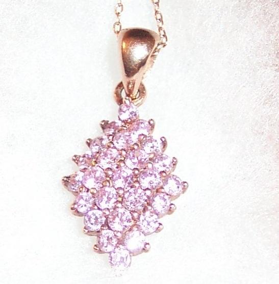 Pink Topaz Necklace Bonanza