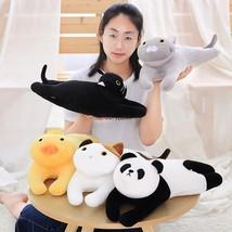 50cm Bedding Series Pillow Cushion cat/panda/chick Super soft down cotton pillow - $21.70