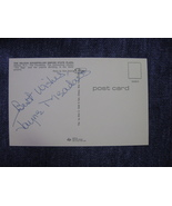 "Jayne Meadows Autograph On A 5 1/2"" X 3 1/2"" Postcard Initaled By Photo... - $40.00"