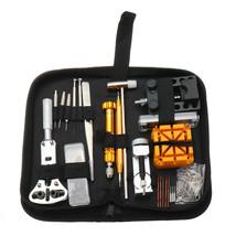 148Pcs Set of Repair Tool Watch Clock Repair Kit Opener Link Pin Remover... - $43.00
