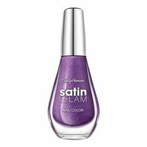 Sally Hansen Satin Glam Nail Polish Nail Color - 07 Taffeta (Purple) - $3.49